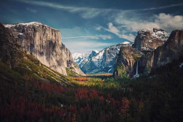 Yosemite National Park in Autumn