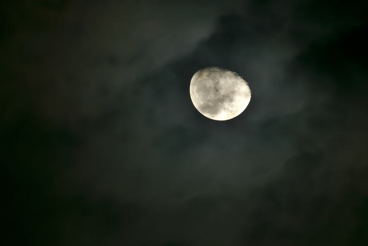 Big Moon on the Sky