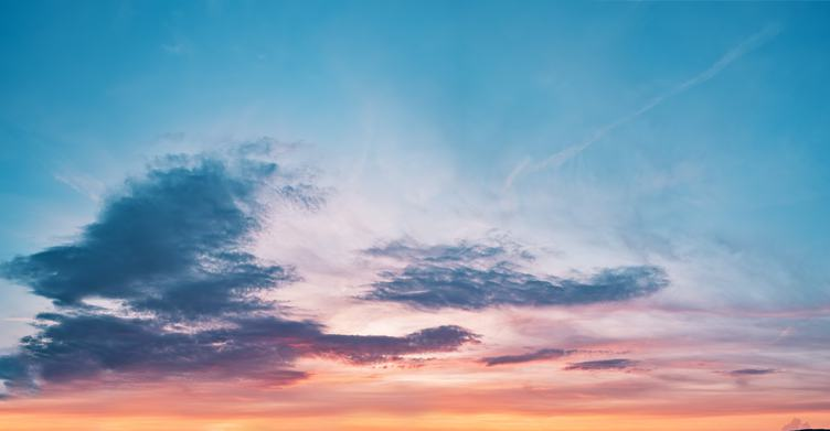 Sky Background with a Pastel Gradient