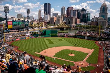 PNC Park Pittsburgh Pirates Baseball Game