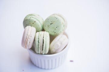 Colorful Pastel Macarons