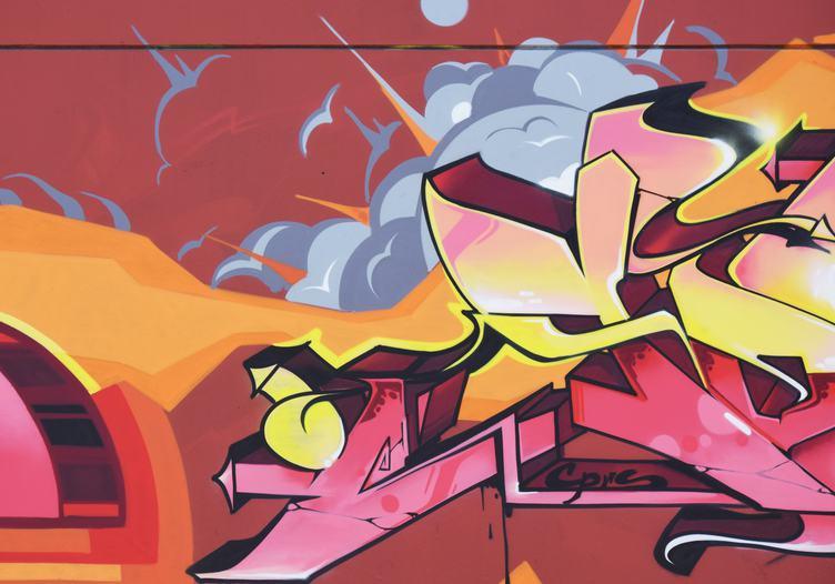 Pice of Graffiti Art