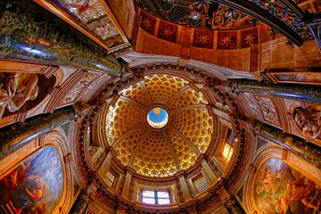 Marvelous Dome of Siena Cathedral Interior