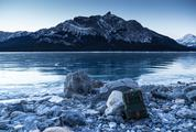Morning, Abraham Lake, Nordegg, Canada