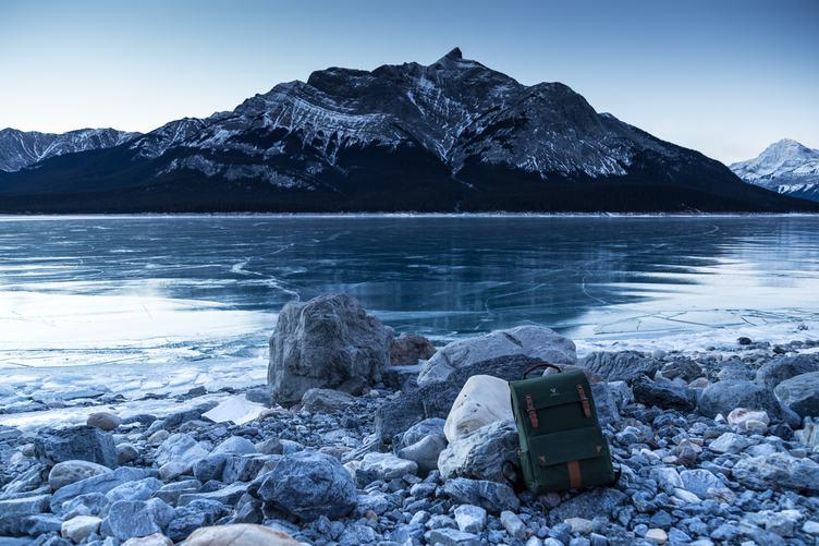 Morning, Abraham Lake, Nordegg, Canada