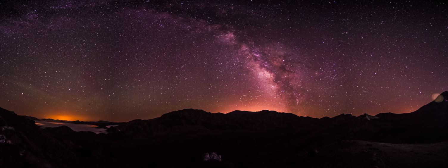 Starry Sky over Iran