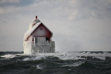 Little Frozen Lighthouse