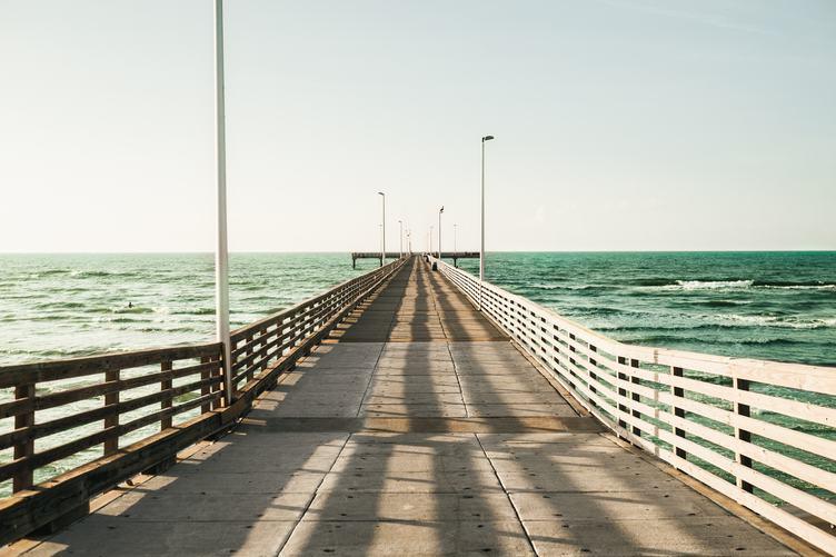 Long Empty Pier