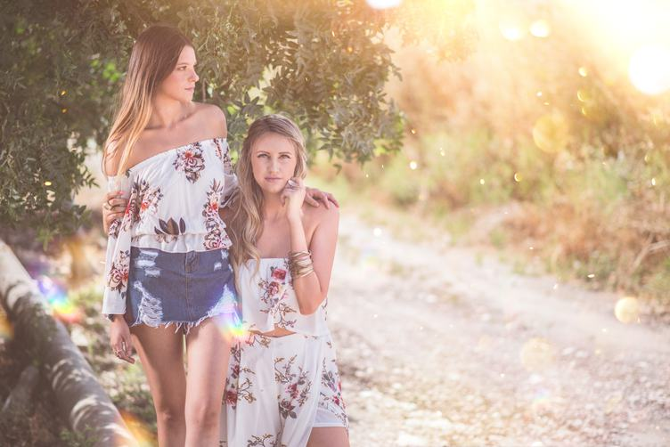 Two Girls in Summer
