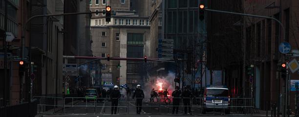 Street Protests in Hamburg