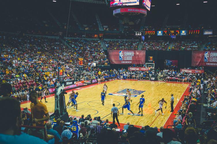 NBA Summer League in Las Vegas Basketball Match