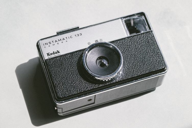 Kodak Instamatic 133 Compact Camera on White