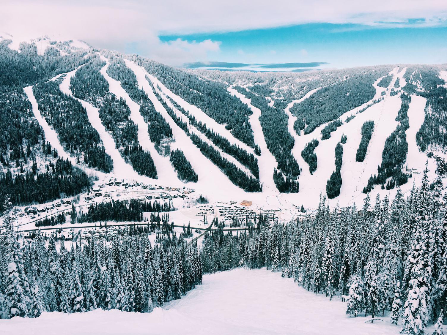 Canada's Alpine Village Sun Peaks Resort