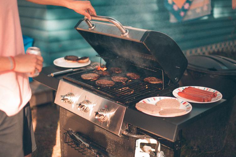 Barbecue in the Backyard