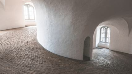 Spiral Ramp of the Round Tower in Copenhagen