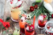 White Christmas Sangria, Holiday Cocktails
