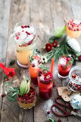 White Christmas Sangria, Holiday Cocktails