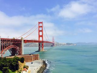 Golden Gate, Suspension Bridge, San Francisco, California