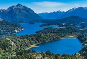 Awesome View of Nahuel Huapi Lake and Andes