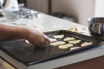 Gingerbread Cookies Preparation