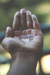 Hand with Water