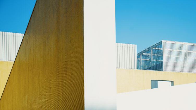 Clean and Minimal Building Facade