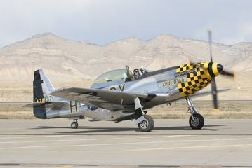 Mustang P-51 at Grand Junction Airshow