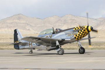 Mustang P-51 at Grand Junction Airshow