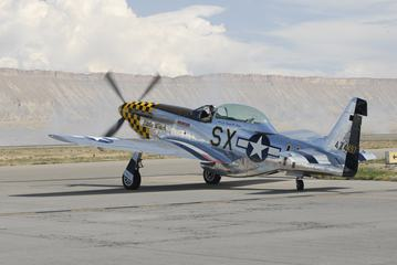 Mustang P-51 Fighter Plane