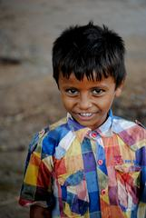 Smiling Indian Boy Portrait