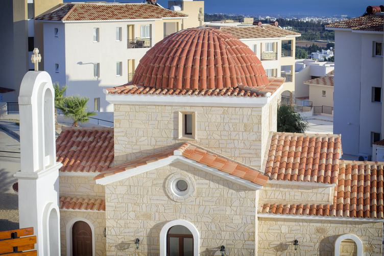 Church in the Town of Paphos in Cyprus Paphos