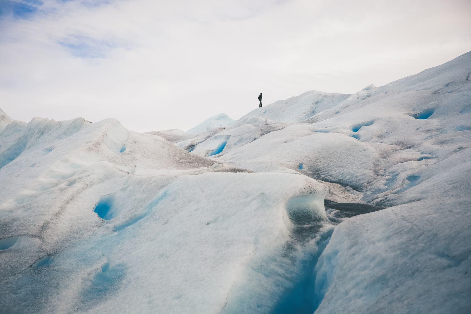 Hiking Perito Moreno Glacier, Argentina