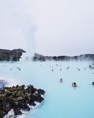Blue Lagoon Hot Springs, Iceland