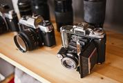 Collection of Old cameras and Lenses