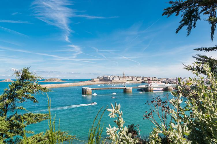 Saint-Malo Port City in Brittany, France