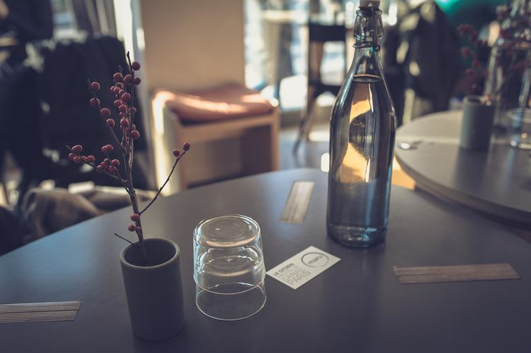 Interior of Le Citizen Hotel Restaurant, Paris