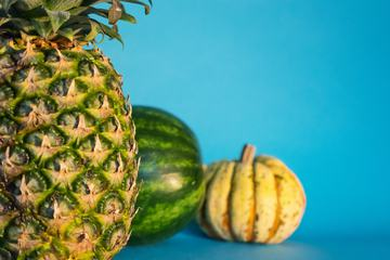 Pumpkin, Pineapple and the Watermelon