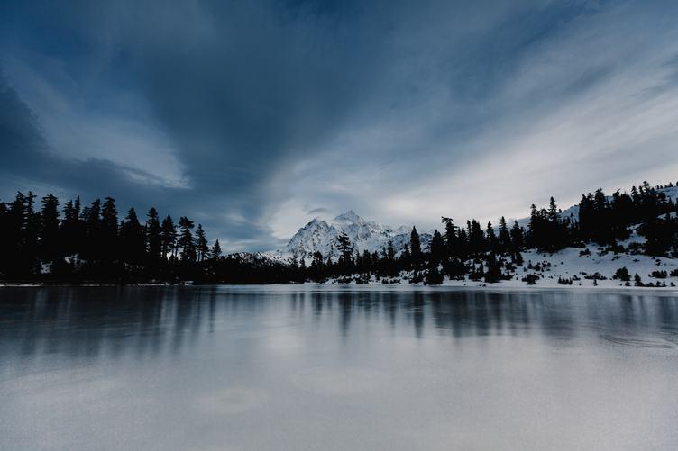 Artist Point Winter Landscape