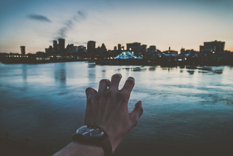 Montreal Skyline at Dusk