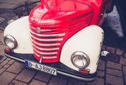 Red Vintage Truck