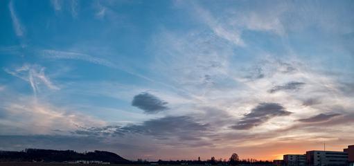 Amazing Sky at Sunset