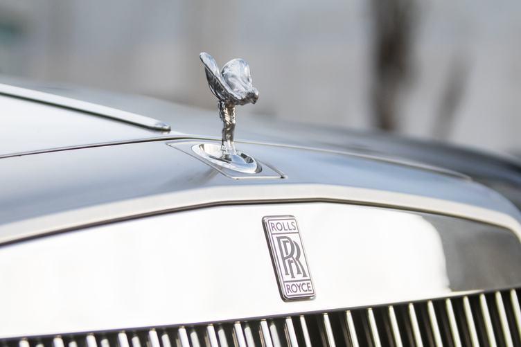 Rolls Royce Closeup