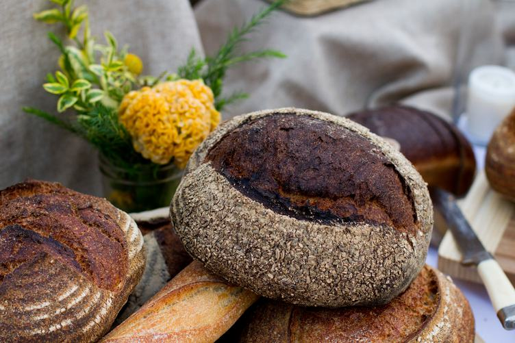 Various Kinds of Fresh Baked Bread