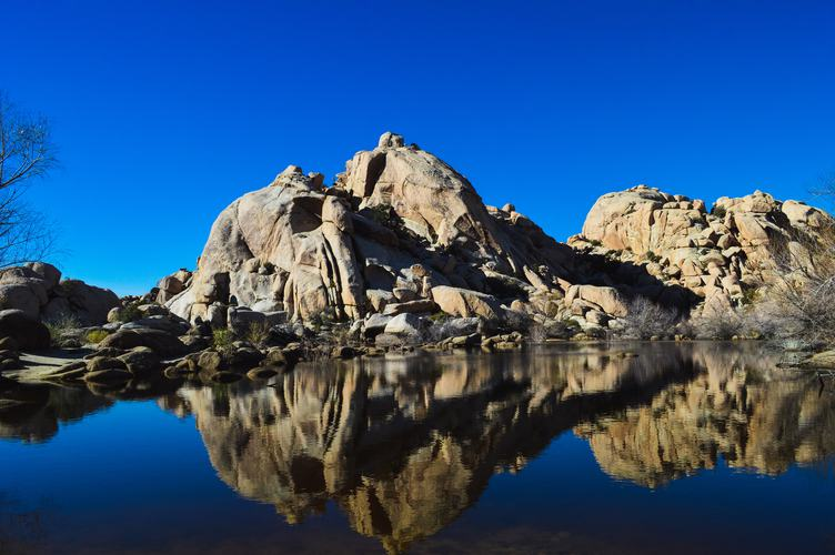 Barker Dam in Joshua Tree National Park, USA
