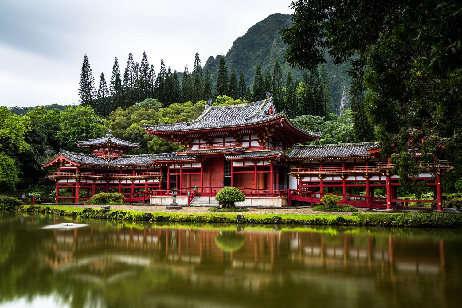Byodo-In Buddhist Temple, Hawaii