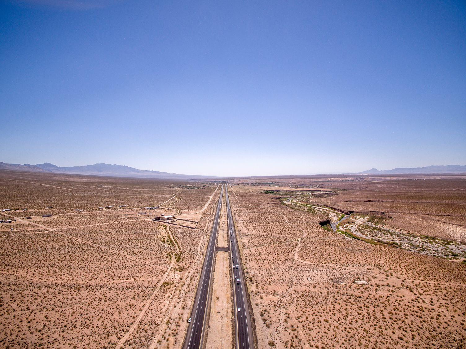 Desert Highway Arizona, USA