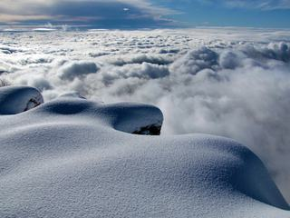 Snow above the Clouds