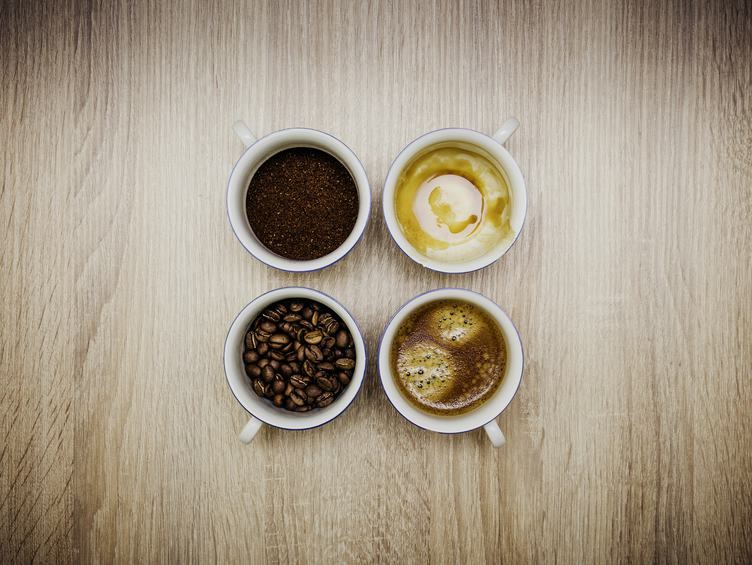 Coffee in Various Forms