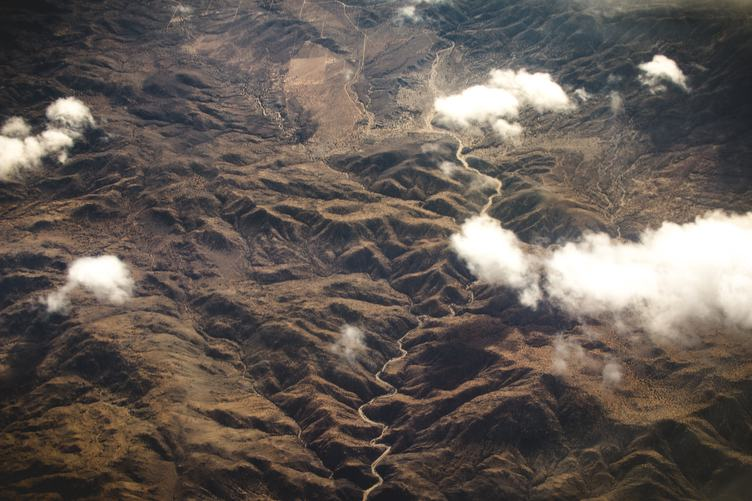 Aerial View of Mountain Landscape