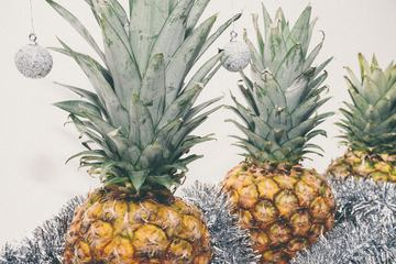 Pineapples Ready for Christmas